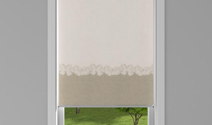 Roller Window- Arden Biscotti