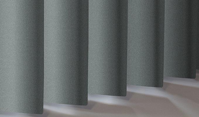 Vertical Aluminium Shimmer Celeste