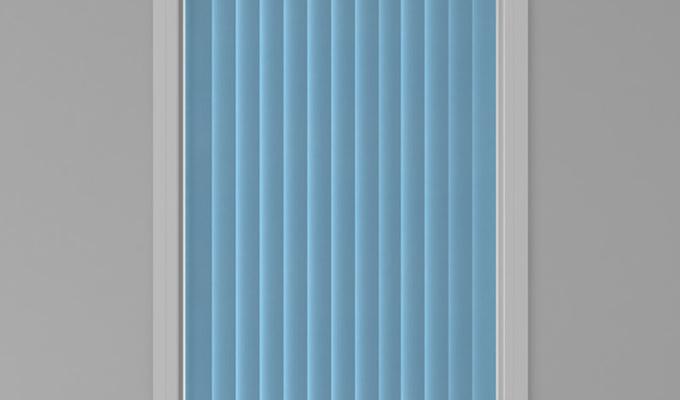 Vertical Window Blue
